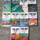 Star Trek Log, Alan Dean, Foster Ballantine, 10 Paperback Books Lot