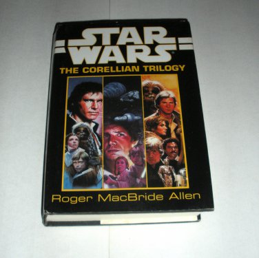 Star Wars Corellian Trilogy, Roger MacBride Alan, HC Book