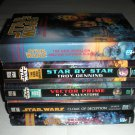 5 Star Wars Books, Vector Prime, Star by Star, Cloak of Deception, Crystal Star