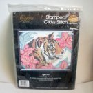 Tiger, Cross Stitch Kit by Candamar Designs Golden Bee