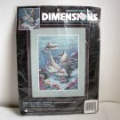 Dolphins' Domain Counted Cross Stitch Kit Dimensions 3830