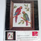 Parrots Birds Cross Stitch Kit No. 75600 by Pik