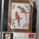 Macaws Birds Cross Stitch Kit No. 75601 by Pik