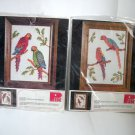 Parrots and Macaws Birds Cross Stitch Kits by Pik