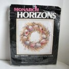 Shell Wreath Monarch Horizons Cross Stitch Kit PCS13