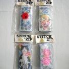 4 Needlepoint Eyeglass Cases Zip & Stitch Cat, Flowers