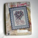 Victorian Design Stamped Cross Stitch Kit House of Lloyd