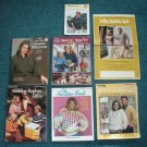 Vintage Knitting Pattern Books Lot Sweaters Shawls Afghans