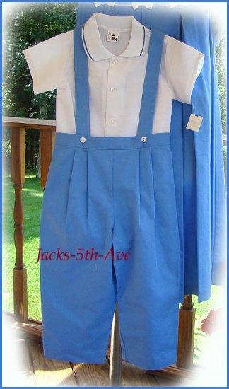 Sale  Boy 4T WOODEN SOLDIER Blue Longall Set Retail $59