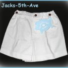 HARTSTRINGS 12 Months Girl Boy White Cotton Shorts