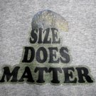 Size Does Matter Men's T-Shirt
