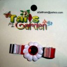 Jewel of the Garden  Hair Accessory Barrette Clip OOAK