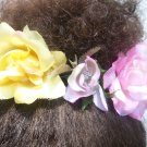 Mixed Color Ponytail Halo