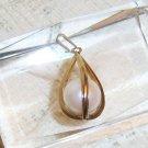 Vintage simulated large pearl pendant