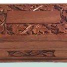 Handmade Walnut Jewelry Box - A unique Gift for Girls/ Women