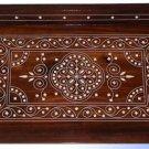 Handmade Wooden Serving Tray / Dish- Bone Inlay