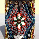 Handmade Pencil Jar - Indian Mirror Work - Free Shipping
