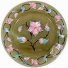 Green Onyx Gift Plate - Shell Inlay - Free Shipping on all plates