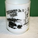 VINTAGE 1967 YELLOWSTONE NATIONAL PARK ANCHOR HOCKING MUG