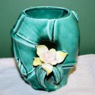 VINTAGE ART DECO POTTERY & PORCELAIN HAND MADE VASE PLANTER