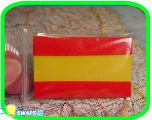Spanish Flag Scout SWAPS Girl Craft Kit - Swaps4Less