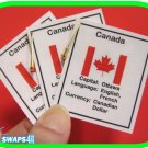 Canada Fun Facts Scout SWAPS Girl Craft -Swaps4Less