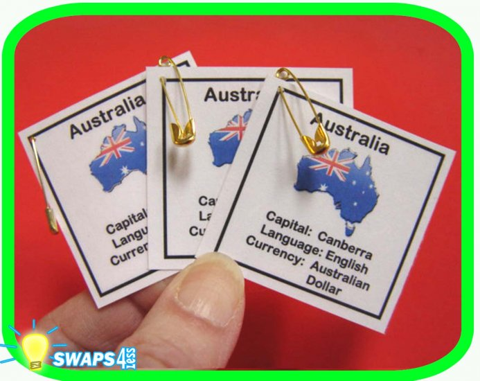 australia fun facts scout swaps girl craft  swaps4less