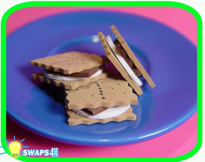 Camp Fire Smores! Scout SWAPS Girl Craft Kit from Swaps4Less