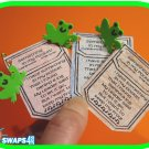 Froggie in My Pocket Scout SWAPS Craft Kit-Swaps4Less