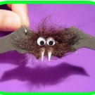 "Halloween Hairy Bat ""Girl Scout"" or ""Boy Scout"" SWAPS Craft Kit by Swaps4Less.com"