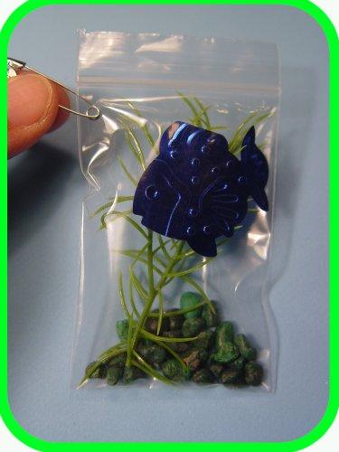 BRAZIL My Pet Piranha-in-a-Bag  -  Scout SWAPS Girl Craft Kit - Swaps4Less