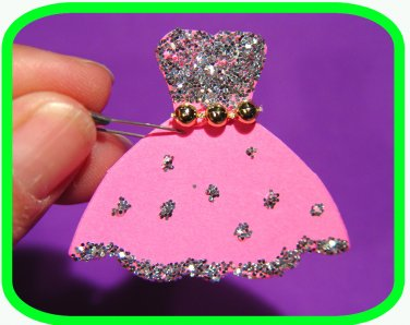 FRANCE ITALY Fashonista or ENGLAND Princess Dress  Scout SWAPS Girl Craft Kit- Swaps4Less