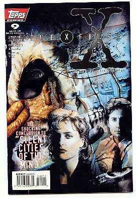 X-FILES ! #9 COMIC !  1st PRINTING!