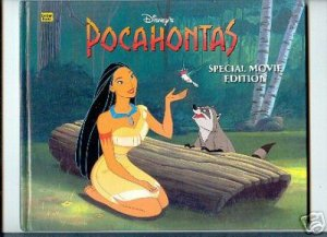 POCAHONTAS SPECIAL MOVIE EDITION GOLDEN BOOK