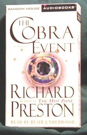 THE COBRA EVENT by RICHARD PRESTON AUDIO BOOK - CASETTES