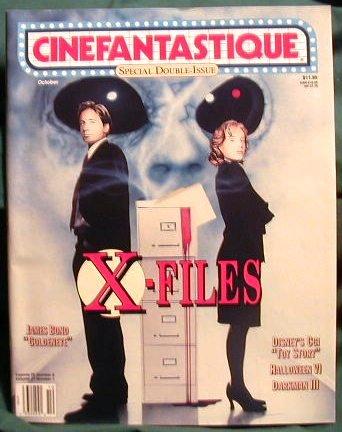 X-FILES ! CINEFANTASTIQUE SPECIAL DOUBLE ISSUE ! OCT 1995