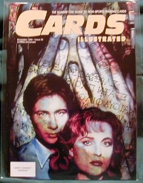 X-FILES ! CARDS ILLUSTRATED ISSUE 23 - NOV 1995