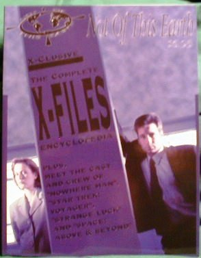 X-FILES ! NOT OF THIS EARTH PUBLICATION - 1995