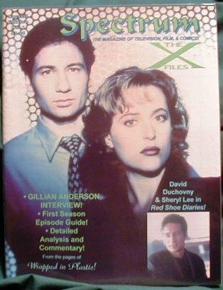 X-FILES ! SPECTRUM MAGAZINE SPECIAL EDITION #1