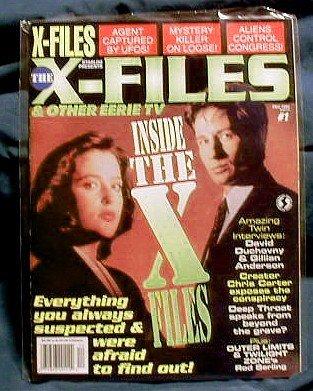 X-FILES ! STARLOG PRESENTS THE X-FILES ! DEC 1995 #1