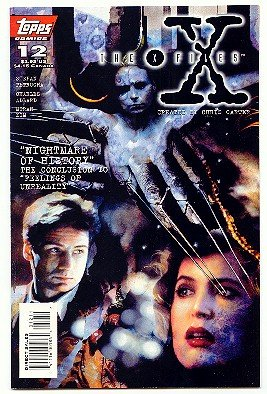 X-FILES ! #12 ! NM CONDITION!