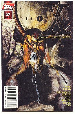 X-FILES ! #37 ! NM CONDITION !