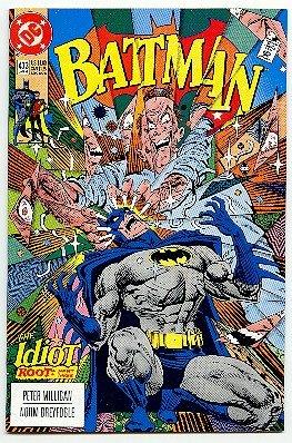 BATMAN ! #473 DC COMICS ! 1992 NM CONDITION