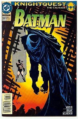 BATMAN ! #507 DC COMICS ! KNIGHTQUEST NM CONDITION
