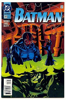 BATMAN ! #519 DC COMICS ! GLOSSY PAGES!  NM CONDITION