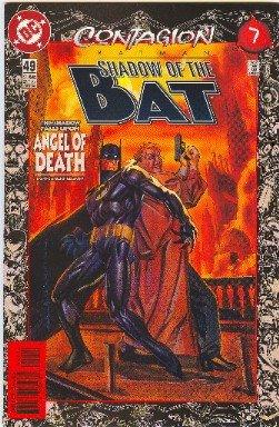 BATMAN ! SHADOW OF THE BAT #49 CONTAGION! PART 7- HUNTRESS! VF/NM CONDITION