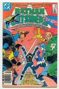 BATMAN AND THE OUTSIDERS! DC COMICS #10 VF CONDITION