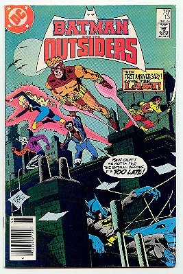 BATMAN AND THE OUTSIDERS! DC COMICS #13 VF/NM CONDITION