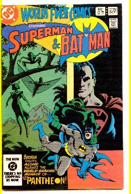 WORLD'S FINEST COMICS #296 SUPERMAN AND BATMAN ! VF/NM CONDITION