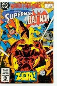 WORLD'S FINEST COMICS #298 SUPERMAN AND BATMAN ! NM CONDITION